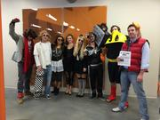 Net Conversion's employees on Halloween
