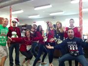 Net Conversion's employees celebrate the holiday season.