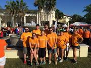 Orange Legal Inc.'s employees at the MS Walk in Orlando