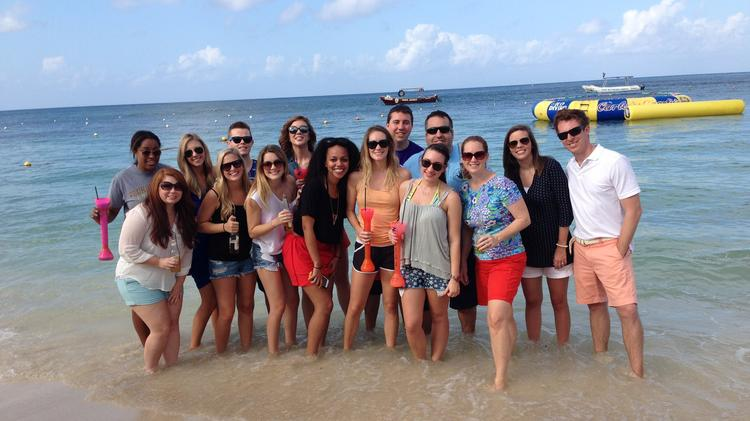 Uproar PR's team went to Cozumel for the firm's 23rd annual retreat.