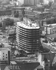 Construction on the building, originally known as Capp Towers, began in 1962.