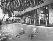 The original pool on the 14h floor was eventually covered over and converted into meeting space.