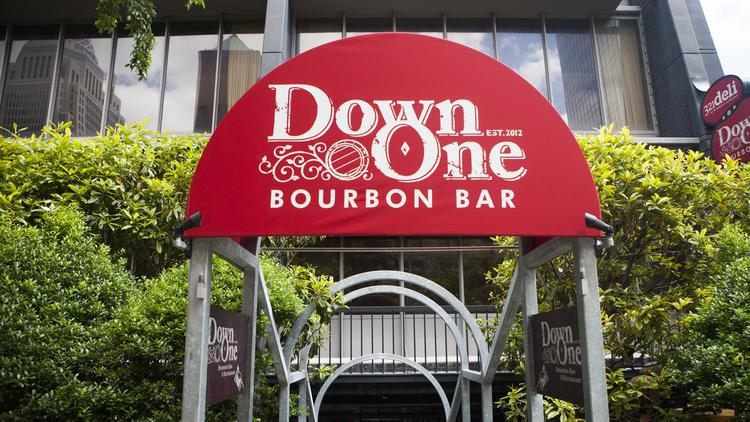 The Down One Bourbon Bar in downtown Louisville is one of eight bars and restaurants that recently were added to Louisville's Urban Bourbon Trail.
