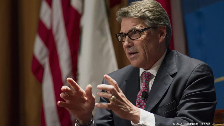 Texas Gov. Rick Perry started the ETF. He'll leave office in a few months, and so far no one has stepped up to be a proponent of the fund like he has been.