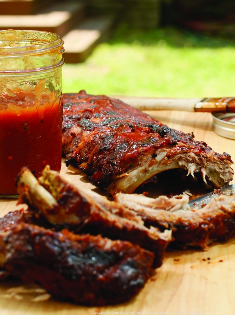 Apparently, barbecue and politics goes together like ribs and sauce.