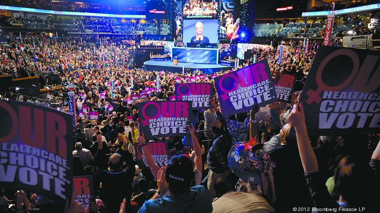 Charlotte hosted the 2012 DNC.