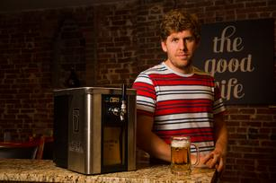 Beer money: Synek banking on home brewers for funding
