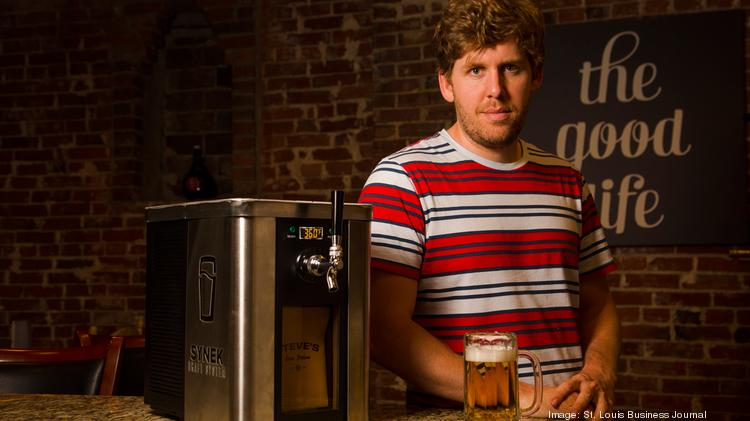 Steve Young developed the Synek Draft System, a draft beer dispenser that acts like a Keurig Coffee Maker for beer consumers.