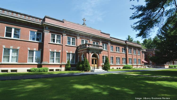 Former St. John Neumann Residence, a retirement home for priests. The 45,000-square-foot site is located on 11.2 acres at 233 Lake Ave. in Saratoga Springs. Bonacio Construction plans to convert the site into 85 market-rate apartments targeting the 55-and-older demographic.