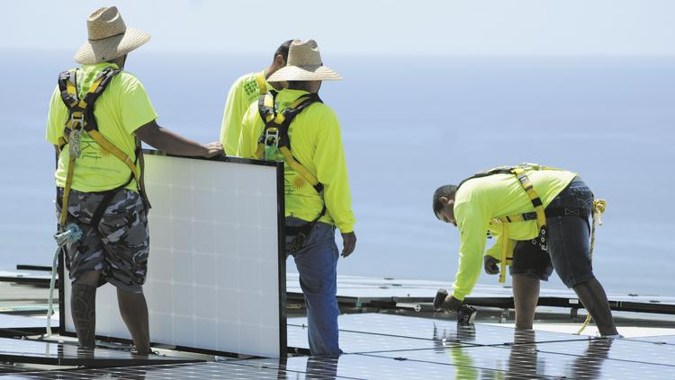 The Big Island fared pretty well when it came to its rooftop solar systems going up against Iselle.