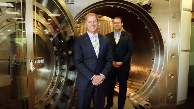 Dave Lofland (left) and Brian Rice are part of KeyBank's leadership team for the new Pacific Region.