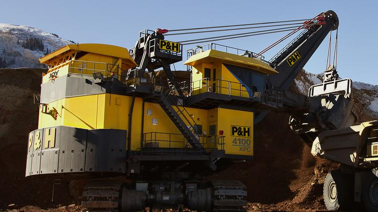 Joy Global Inc., which makes mining equipment, announced that its profits decreased by 61 percent for the third-quarter of 2014.