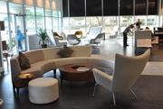 Open meeting spaces can foster casual engagement among workers.