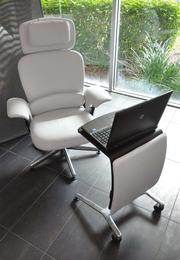 Have wireless laptop, will travel: The Leap Work Lounge chair.
