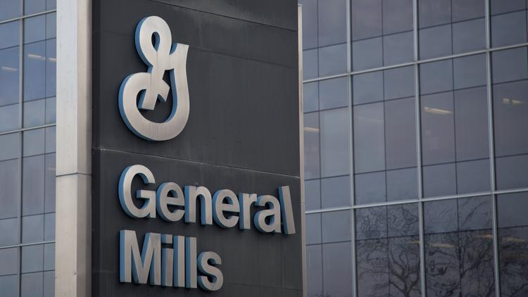 General Mills Inc. global headquarters stand in Golden Valley, Minnesota, U.S., on Saturday, March 15, 2014. Photographer: Ariana Lindquist/Bloomberg