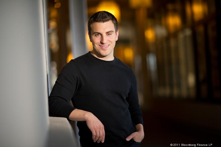 Brian Chesky's Airbnb is worth $2.5 billion.