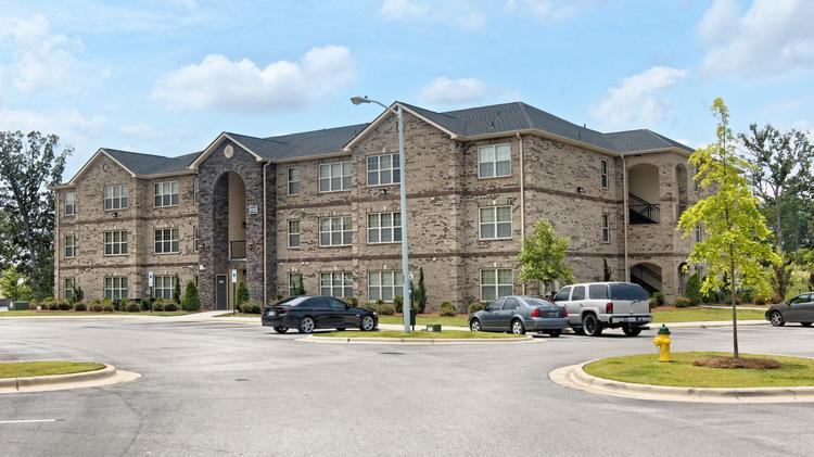 A recent Hackett Builders project was an apartment community on land adjacent to the Fayetteville VA Medical Center.