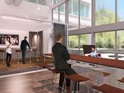 The redevelopment will include plug-and-play tech tables that transform into whiteboards