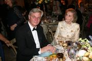 Peter Taksoe-Jensen, Denmark's ambassador to the U.S., and Wilhelmina Holladay, co-founder of the National Museum of Women in the Arts.