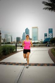 Giselle Carson is an avid runner. One of her goals is to run all five of the largest marathons in the world.Read more about Carson and other Jacksonville executives who run marathons here.