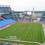Waltham-based ModusLink is finally about to end CMGI's Pats stadium marketing rights deal
