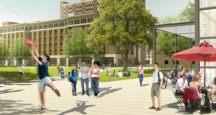 Ohio State has green-lighted a project to add dorms to north campus in a project that'll spur the local construction market.