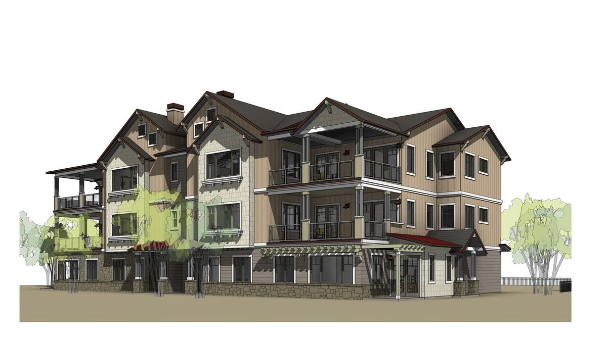New home co ready to build 56 condos to revamp downtown for House plans lafayette la