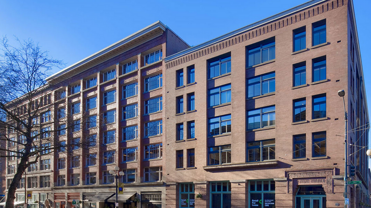 AssureStart has its headquarters in the Merrill Place building in Seattle's Pioneer Square neighborhood.