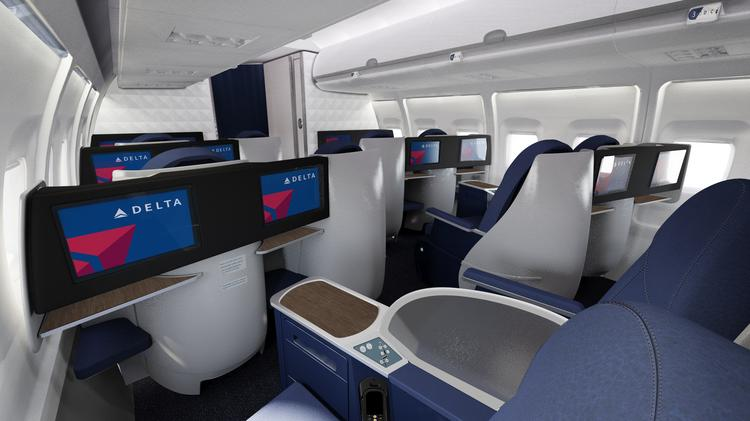 BusinessElite customers with Delta Air Lines between New York City and Los Angeles will have the option of a Boeing 757-200 aircraft, which features upgrades like full flat-bed seats.