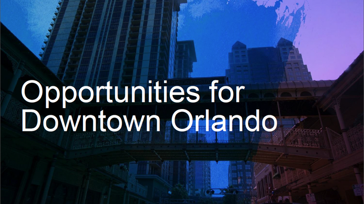 So what will the next decade of downtown Orlando look like?