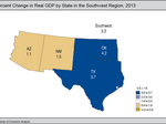 Texas takes eighth for GDP growth in 2013
