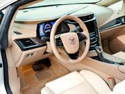 The interior of the 2014 Cadillac ELR.