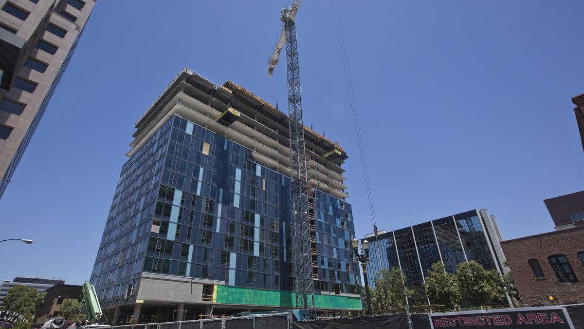 Inside San Jose S Newest High Rise One South Market Watch