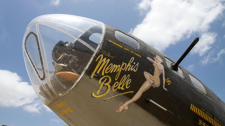 A B-17 Flying Fortress operated by the Liberty Foundation was in Wichita on Monday, offering some media flights in advance of its slate of publicly available flights this weekend.