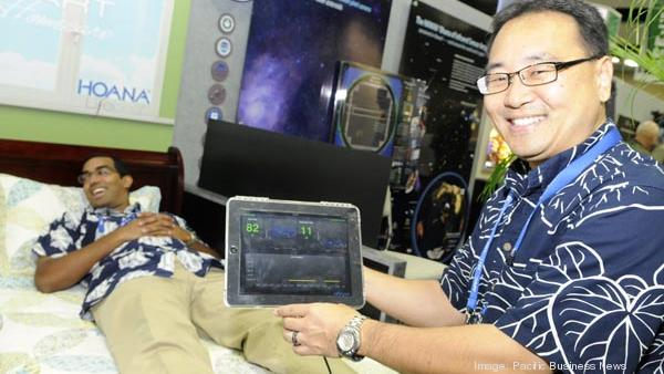 Oceanit's Ian Kitajima is seen in this  2011 file photo during the Asia-Pacific Economic Cooperation meetings. The Honolulu-based engineering firm was one of four Hawaii technology companies to receive funding from Innovate Hawaii.