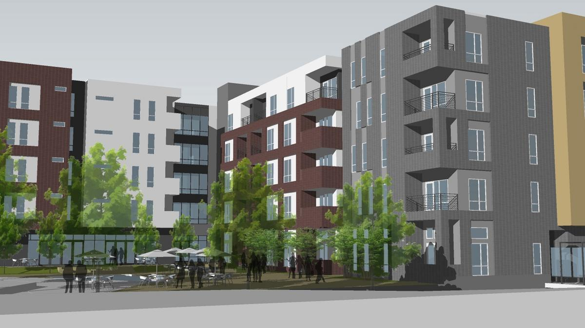 Downtown apartment roundup: Three projects, 340 new units ...