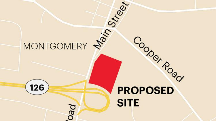 The city of Montgomery is piecing together 11.5 acres of land along Montgomery Road for a new mixed-use development.
