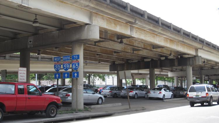 The Alabama Department of Transportation may be eliminating the 400 parking spaces beneath the Interstate 20/59 bridges by the Birmingham Jefferson Convention Complex, but there are still plenty of parking options for visitors.