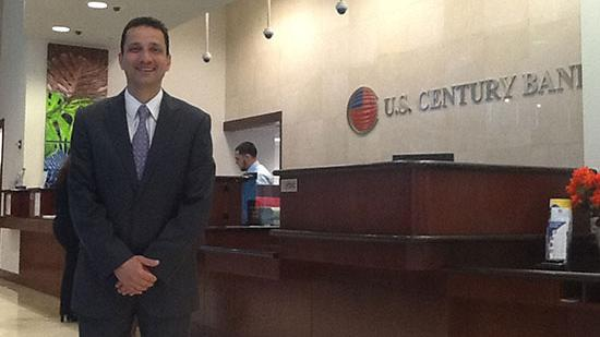 U.S. Century Bank CEO Carlos Davila closed two branches that were leased from former board members.