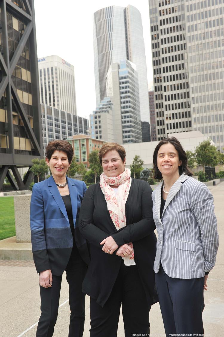 Hall Capital — led by Helane Morrison, Kathryn Hall, Sarah Stein (from left) — says accountability underpins the firm.