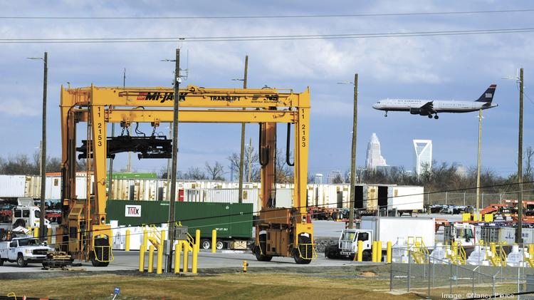 Norfolk Southern's intermodal facility in Charlotte grows