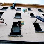 Iconic Hugo Hotel in S.F. sheds artwork, ready for reinvention as affordable housing