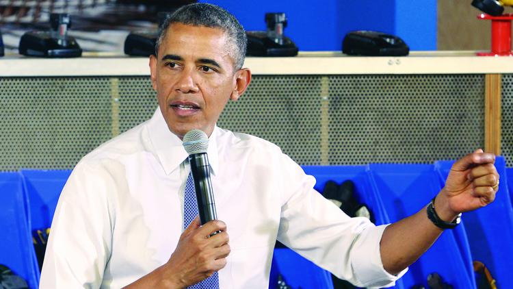 President Obama speaking Tuesday afternoon in Pittsburgh. The president addressed the capture by U.S. Special Forces of the top suspect in the killing of four Americans, including Ambassador Christopher Stephens, in Benghazi, Libya.