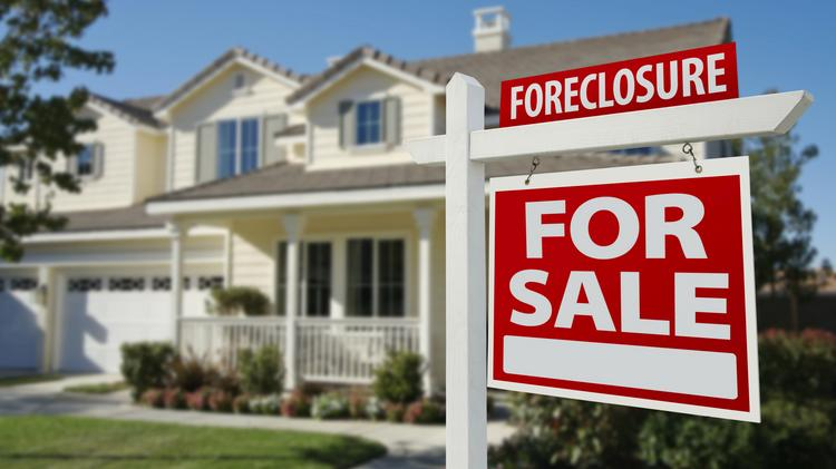 A sign very rarely seen around Colorado as the number of foreclosures have dramatically fallen from last year, a new report says.