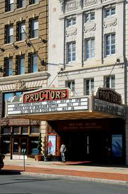 Ticket sales at Proctors in Schenectady have tripled in the past 10 years.