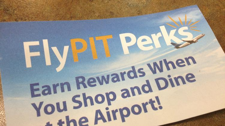 The new customer rewards program at Pittsburgh International Airport was announced Tuesday.