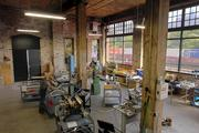 A view of Slayer Espresso's Georgetown manufacturing facility in the old Rainier Brewery.
