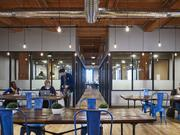 "The more than 11,000 square foot ""design-focused"" space is targeted at entrepreneurs, small businesses, and Fortune 500 brands seeking creative workspace away from their cubicle-farm campuses."