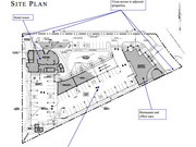 This is the proposed site plan for a new mixed-use development near Universal Orlando Resort.