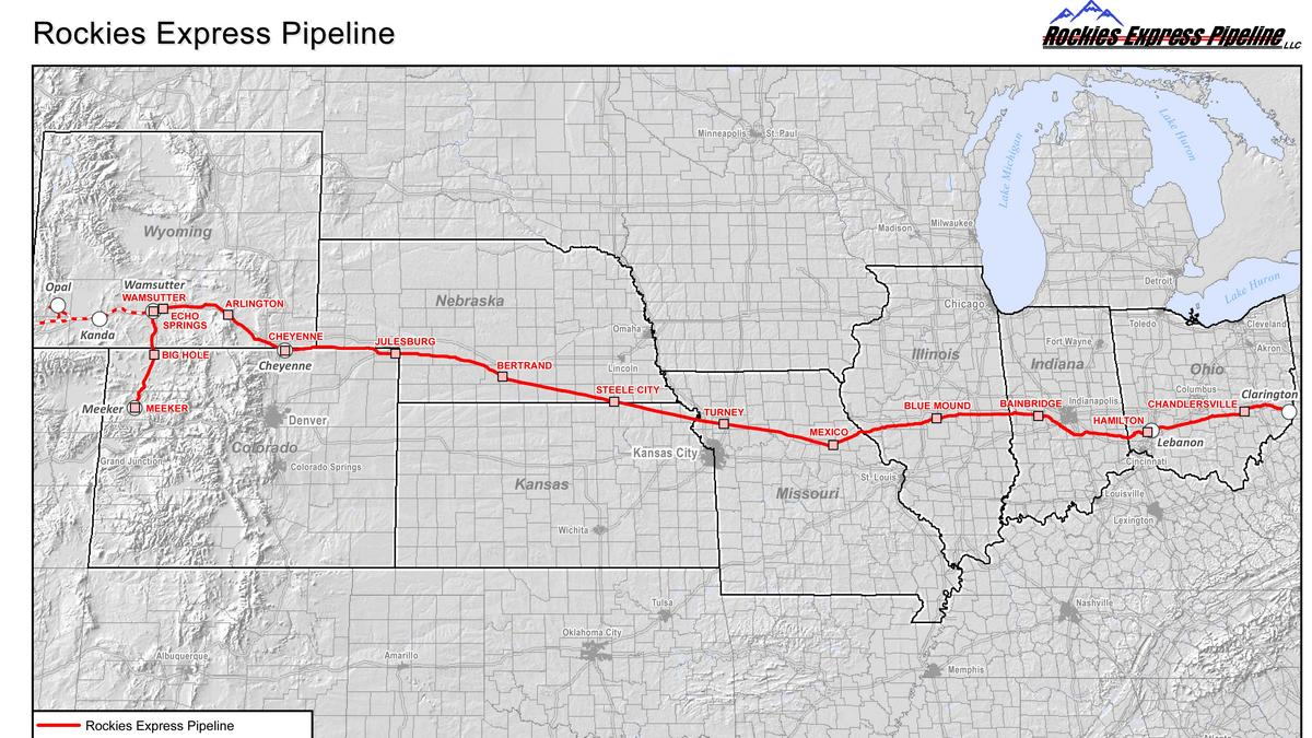 rockies express pipeline extension to bring ohio natural gas to rockies express pipeline extension to bring ohio natural gas to na and illinois columbus columbus business first